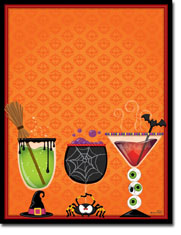 Paper So Pretty - Blank Designer Papers (Spirits and Spooks) (DP1115)
